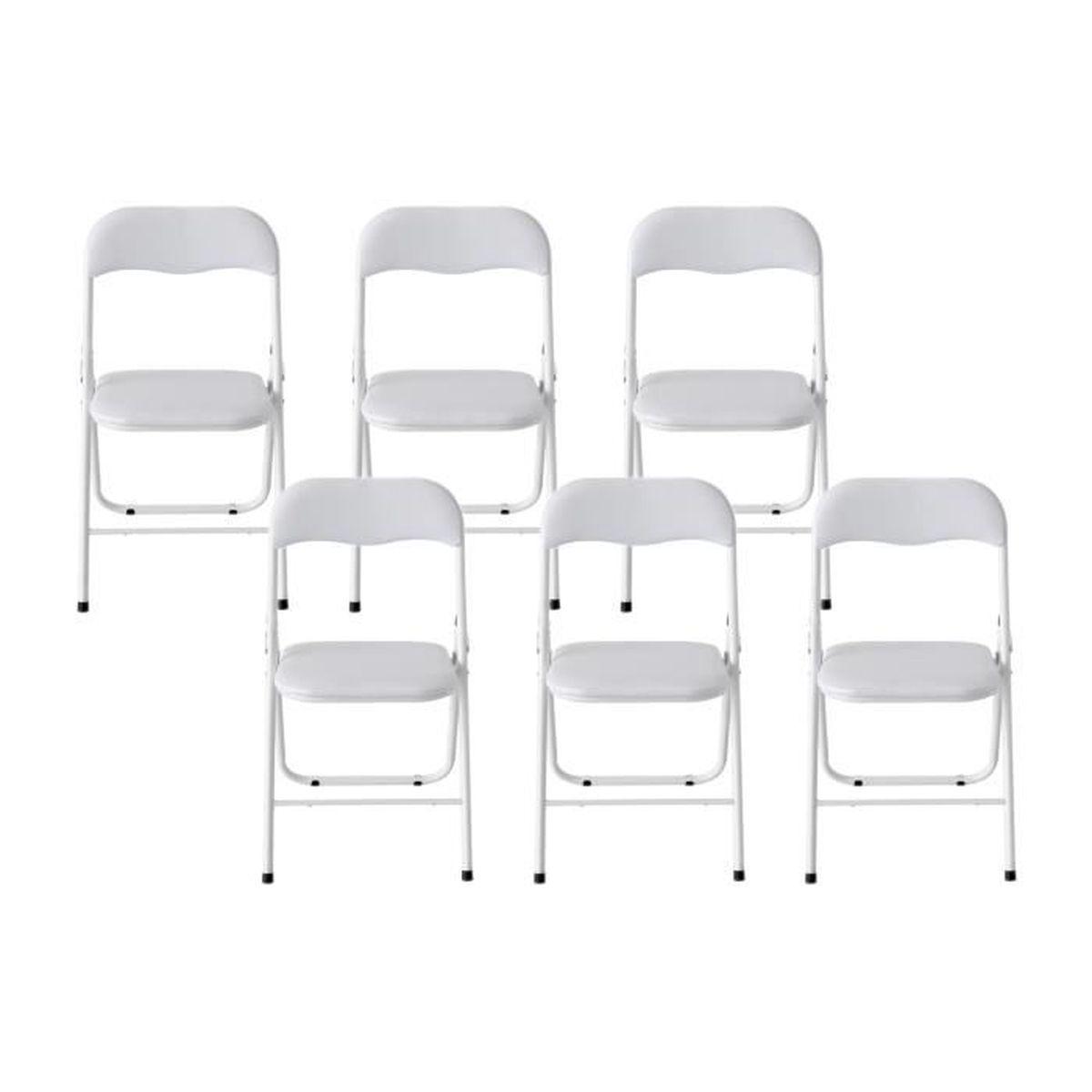 Chaises de salle a manger pliante achat vente chaises for Chaise de salle a manger pliante
