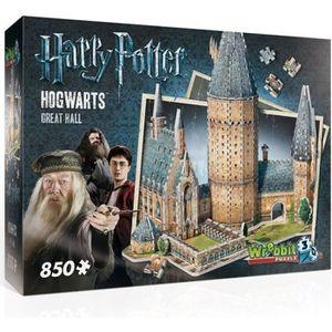 PUZZLE HARRY POTTER - Puzzle 3D - Poudlard La Grande Sall