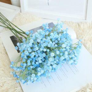 OBJET DÉCORATIF Artificiel gypsophile floral fleur fausse soie mar