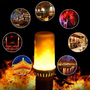 AMPOULE - LED LED flamme Effet lumineux incendie simulé Nature m