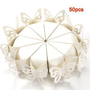 BOÎTE À DRAGÉES 50x Boite a Dragee Papillon Decoration Mariage Bap