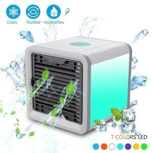 CLIMATISEUR MOBILE MOONMINI Refroidisseur d'Air : Ventilateur, humidi