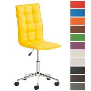 Chaise De Bureau Jaune Achat Vente Chaise De Bureau Jaune Pas