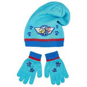 ... Bleu de 3 à 9ans. BONNET - CAGOULE Bonnet et gants enfant garçon La Pat   Patrouille B 035974db9e8
