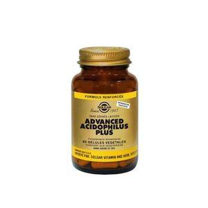 DÉFENSE IMMUNITAIRE  solgar advanced acidophilus plus 60 gelules vegeta
