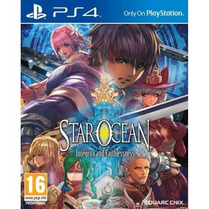 JEU PS4 Star Ocean: Integrity and Faithlessness PS4