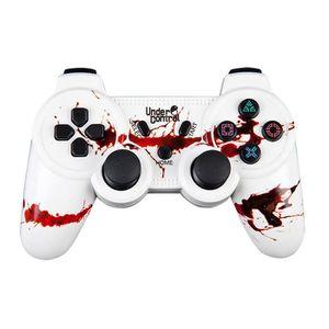 MANETTE JEUX VIDÉO UNDER CONTROL Manette bluetooth PS3 - Zombie