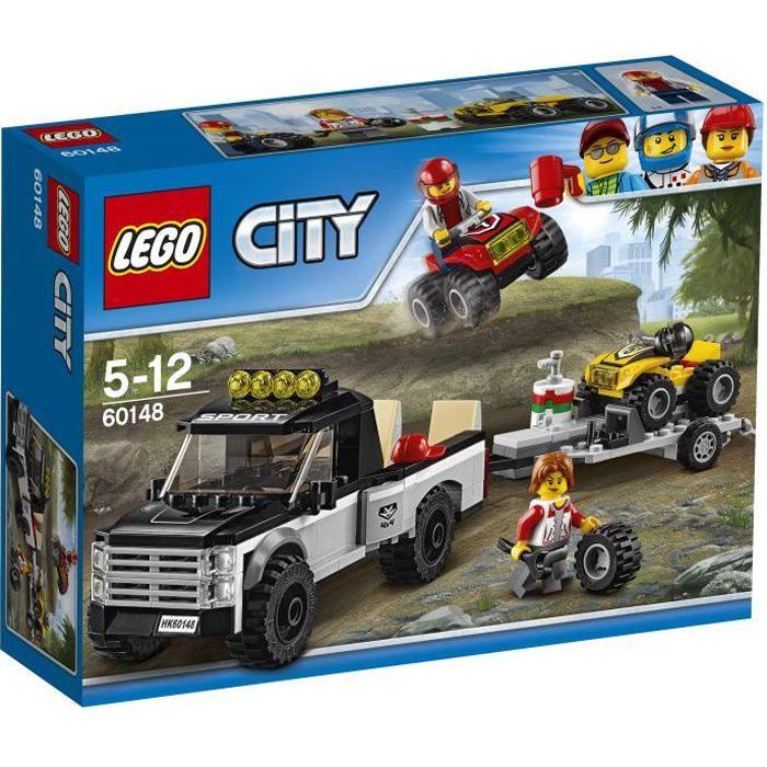 LEGO® City 60148 L'Équipe de Course Tout-Terrain