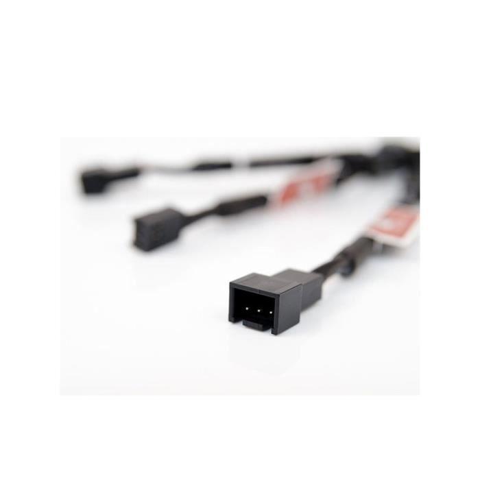 Noctua Kit pour ventilateur NA-SRC10 - 3 adaptateurs faible bruit vers connecteurs 3-broches