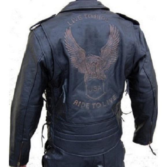 magnifique veste cuir moto biker neuf achat vente blouson veste magnifique veste cuir. Black Bedroom Furniture Sets. Home Design Ideas