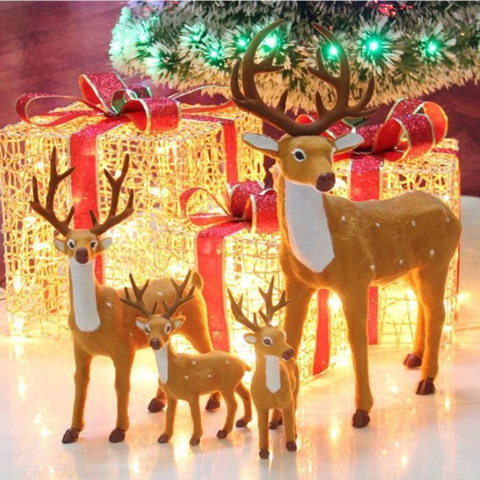 decoration noel rennes Rennes Noël cerfs Xmas boutique vitrine étalage de décoration  decoration noel rennes