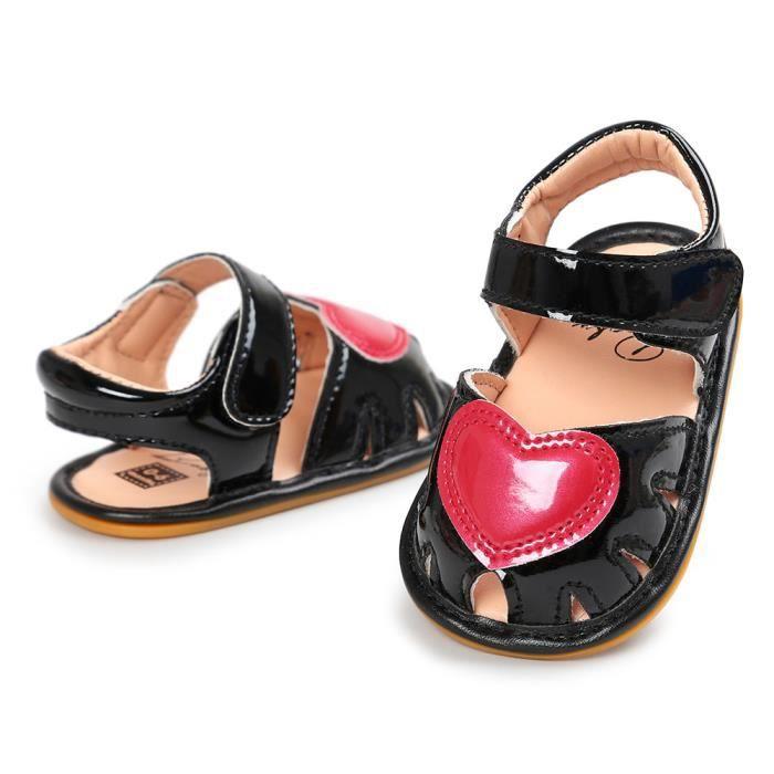 b604480a6cc28 BOTTE Chaussures à semelle souple pour bébé Chaussures de sport pour  tout-petit Chaussures de sport Bleu cielHM