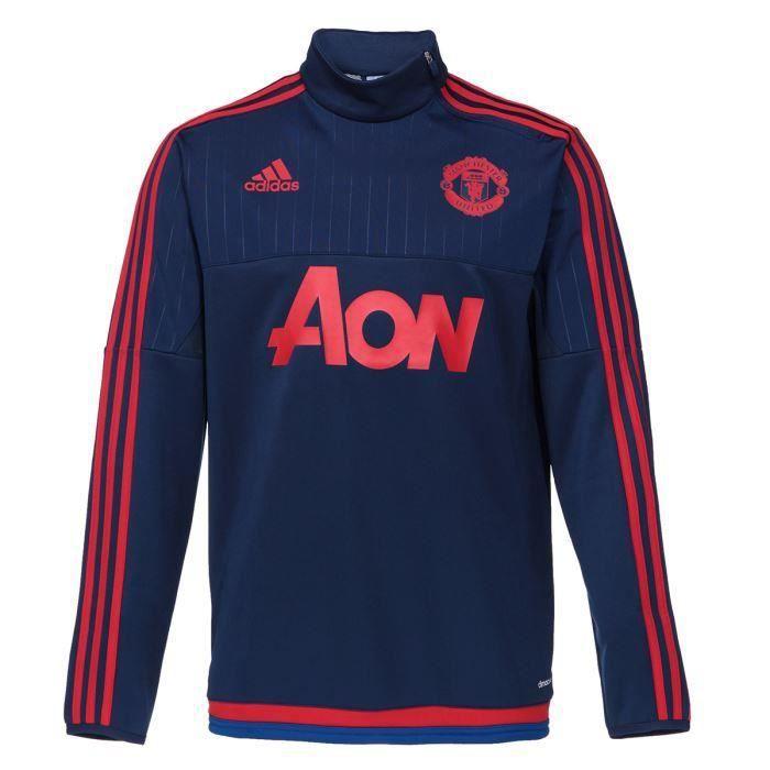 Sweat Adidas United Football Neuf Shirt Manchetser Homme ZkiPXOuT