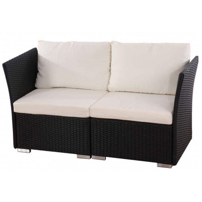 canap de jardin siena de 2 places avec coussin achat. Black Bedroom Furniture Sets. Home Design Ideas