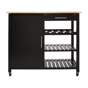 desserte inox achat vente desserte inox pas cher cdiscount. Black Bedroom Furniture Sets. Home Design Ideas