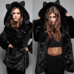 manteau femme fausse fourrure achat vente pas cher black friday cdiscount. Black Bedroom Furniture Sets. Home Design Ideas