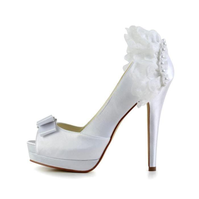 Jia Jia Wedding 40913 chaussures de mariée mariage Escarpins pour femme 2wkNUGI9