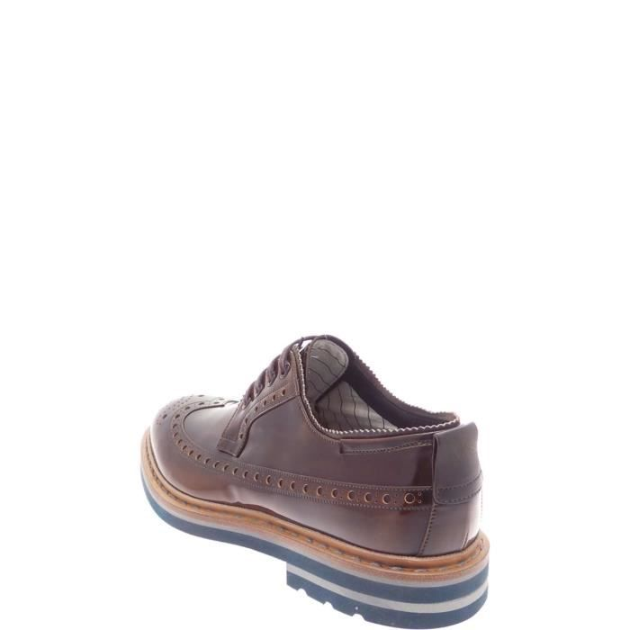 Barracuda Lace Shoes Homme Brown z73gx7Qlg