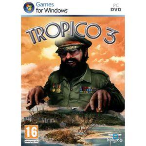 JEU PC TROPICO 3 / JEU PC DVD-ROM