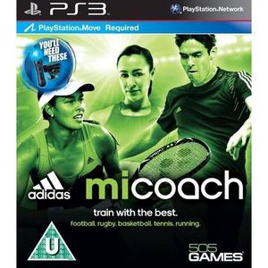 JEU PS3 Adidas miCoach - Move Required ( (Playstation 3...