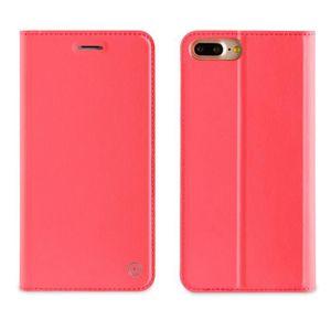 MUVIT Etui Folio Stand Rose Pour Apple Iphone 7 Plus