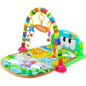 TAPIS ÉVEIL - AIRE BÉBÉ Tapis bébé de fitness HE0603 jouet éducatif pour n