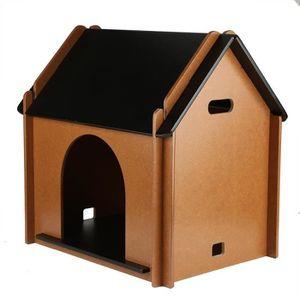 NICHE Niche Maison de Chien chat en bois pour animaux de
