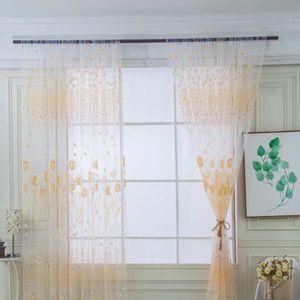 RIDEAU Petit balcon chaud de rideau de salle de séjour de