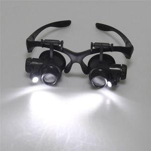 LUNETTES DE LECTURE Double Eye Watch Réparation Lunettes Lunettes Lupe a0e0c148294c