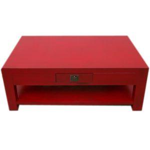 table basse table japonaise avec tiroir et niche collection pa - Table Japonaise Basse