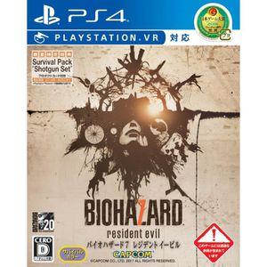 JEU PS4 CAPCOM Biohazard 7 Resident Evil PLAYSTATION VR SO