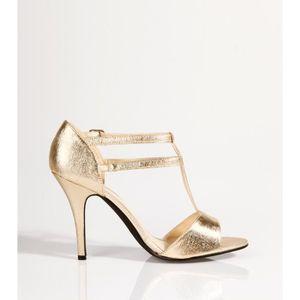 SANDALE - NU-PIEDS Sandales de soirée à talon métal…