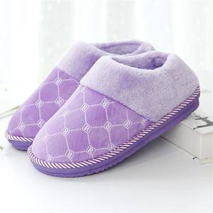 Treillis Chausson Meilleure Qualité Extravagant Simple Homme Chausson Nouvelle arrivee Confortable Coton Hiver Beau Chaussure 40-45 8w9TY9h