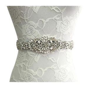 5cf55d3ac128 CEINTURE ruban en Satin, broche en strass, ceinture sur mesure pour la robe  de