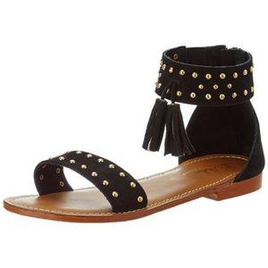e7cb659473802 SANDALE - NU-PIEDS Sandale Femmes Clou Pompon, Gladiator Sandales 3XQ