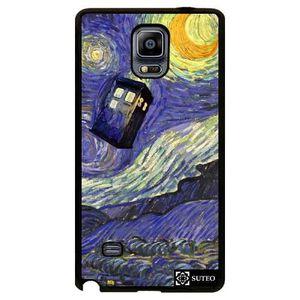 COQUE - BUMPER Coque Samsung Galaxy Note 4 – La nuit étoilée de V