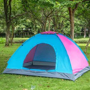 TENTE DE CAMPING TEMPSA Tente de camping - 2 places - Couleur aléat