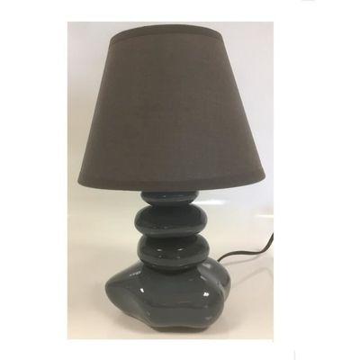 Galet Lampe Vente De Chevet Achat Gris 31cm tBhrCdxsQo