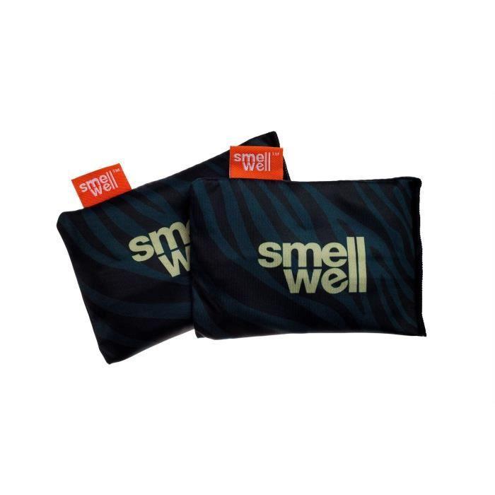 SmellWell Active - Black Zebra - pochons désodorisants 3-en-1