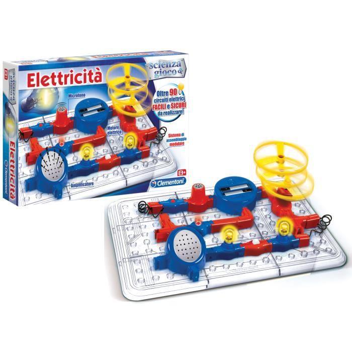 clementoni electricit 39 tv jeux jouets achat vente kit mod lisme cdiscount. Black Bedroom Furniture Sets. Home Design Ideas