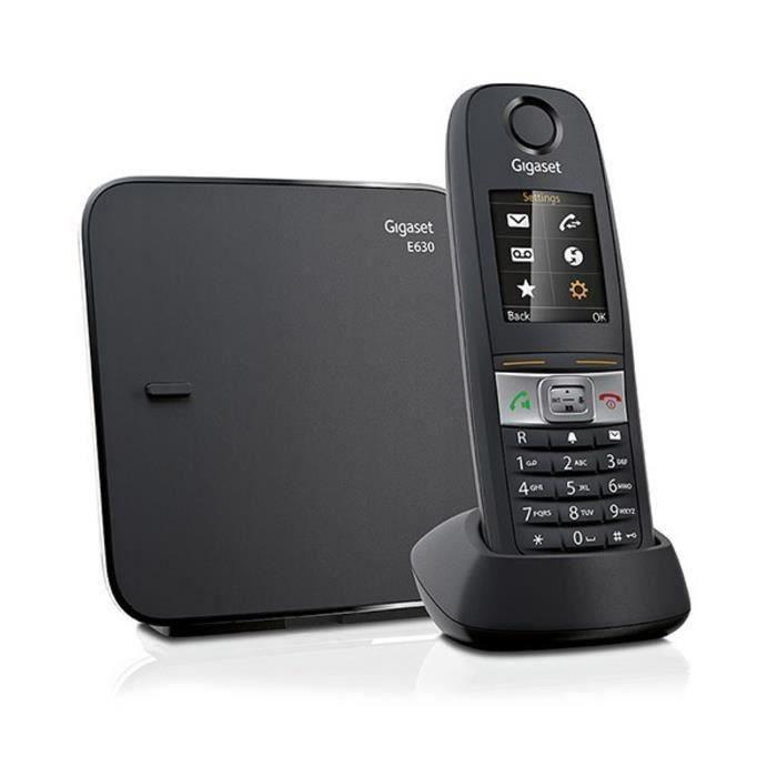 Telephone fixe sans fil 200 contact achat vente pas cher - Telephone sans fil longue portee ...