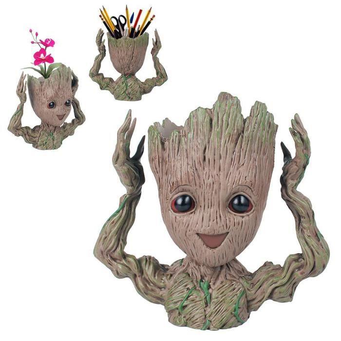 Leegoal Pot De Fleur Groot De Plantes Succulentes Levez La Main