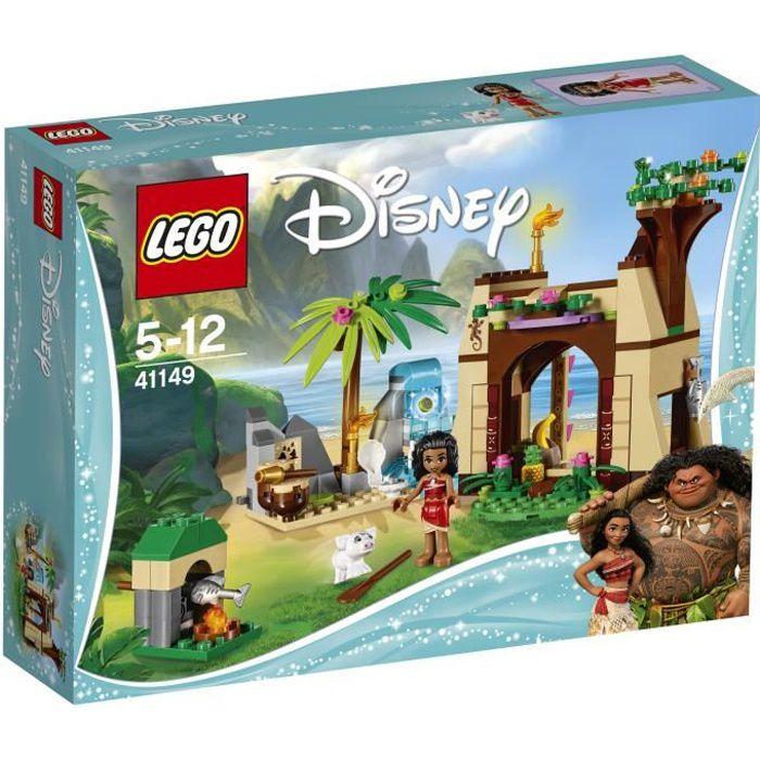 De Vaiana Lego® Disney 41149 L'aventure L'île Sur 3Rj4qAL5