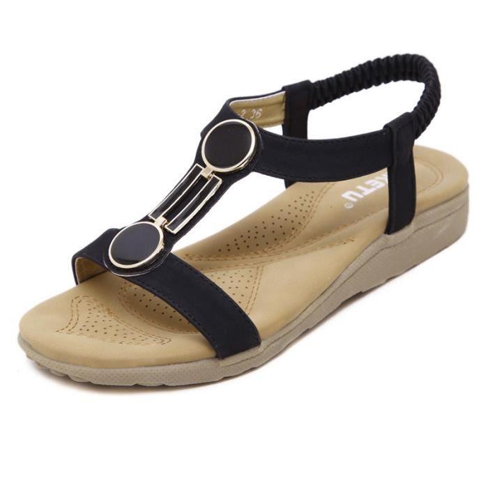 femme sandales d'été chaussures de marche casua... BVZOfr2SpD