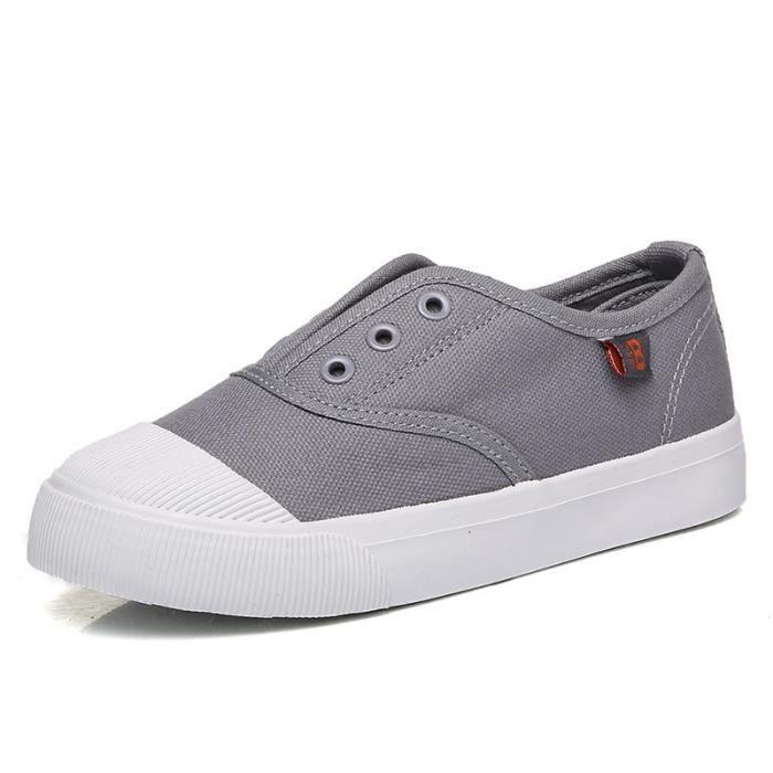 Chaussures En Toile Hommes Basses Quatre Saisons Haute Qualité GD-XZ132Bleu43 kVF4D