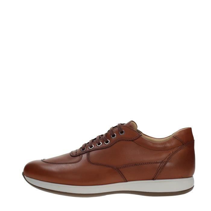 Soldini Sneakers Homme BROWN, 43