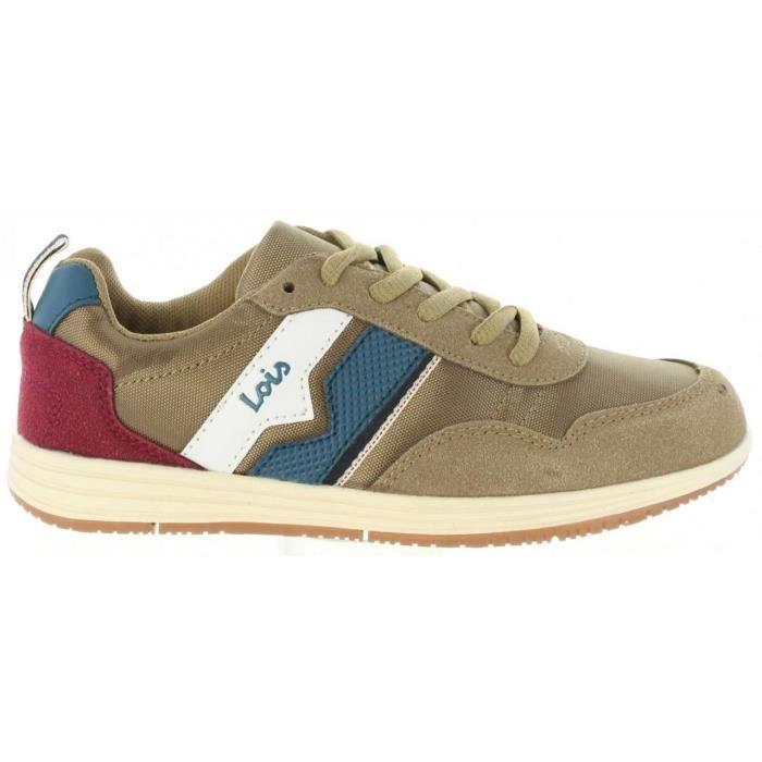 Chaussures de sport pour Garçon et Fille LOIS JEANS 83775 43 CAMEL