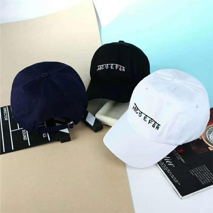 Unisexe Baseball Hat, Blanc