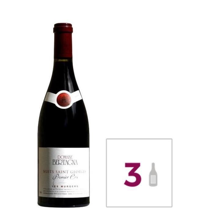 Domaine Bertagna Nuits Saint Georges 2014 - Premier Cru - Pinot Noir - 75 cl x3