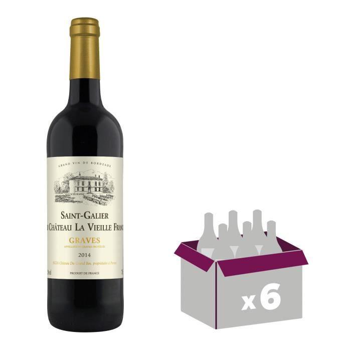 AOC Graves - 75 clVIN ROUGE